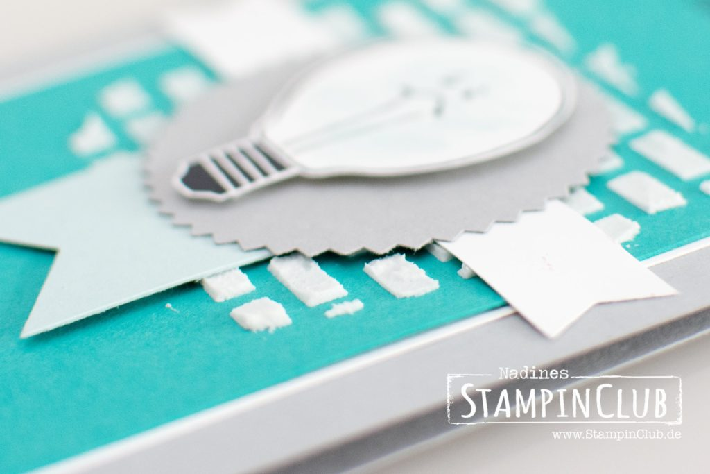 Watts of Occassions, Stampin' Up!, Struktur-Paste, Stanze Sonne