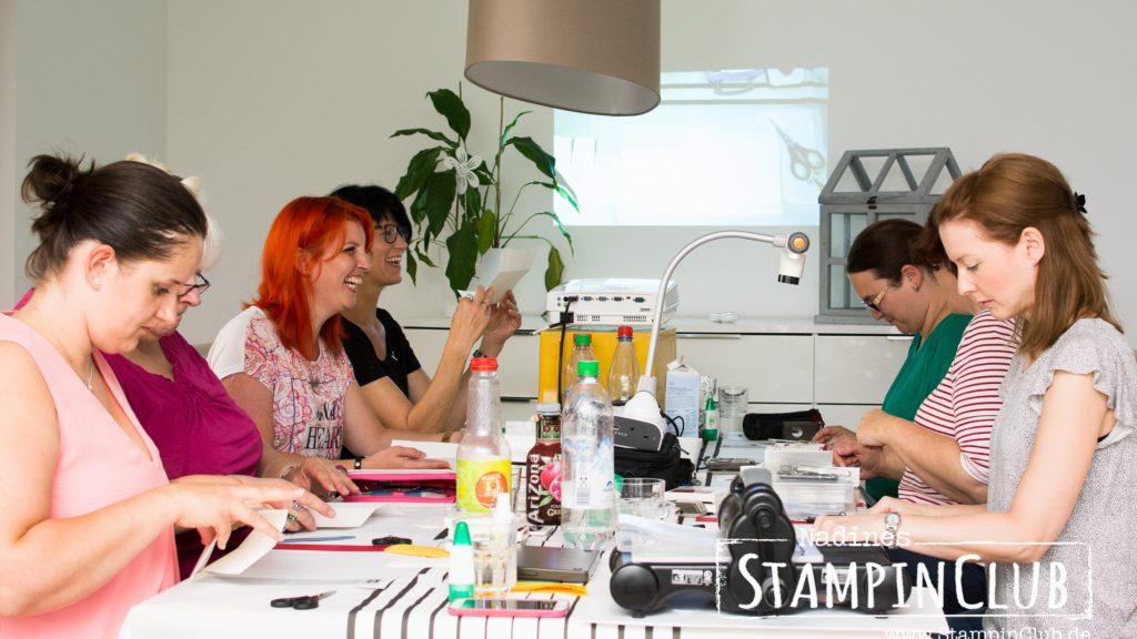 Stampin' Up!, StampinClub, Teamtreffen, Tag der offenen Tür