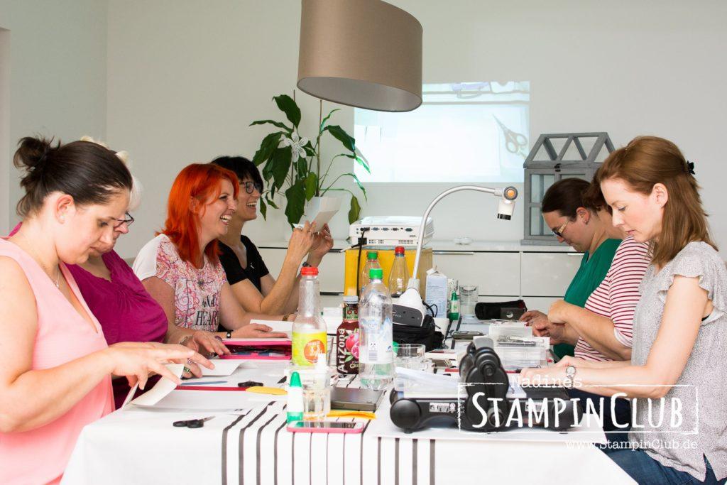 Stempel-Brunch, Stampin' Up!, StampinClub, Teamtreffen, Tag der offenen Tür