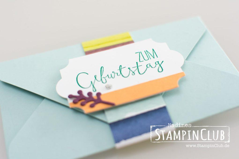 Stampin' Up!, StampinClub, Geschenkgutschein, Gutscheinkarte