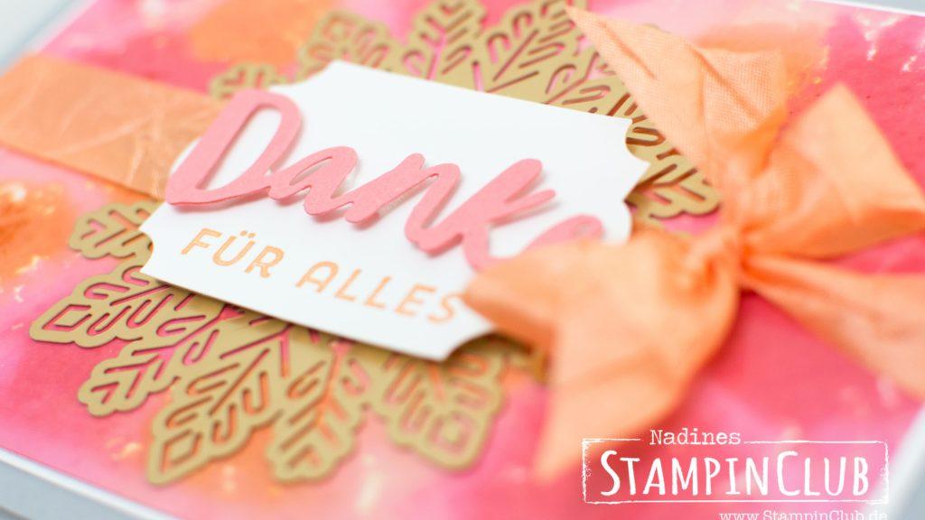Glanzkarton, Glossy White Cardstock, Stampin' Up!, StampinClub, Beste Grüße
