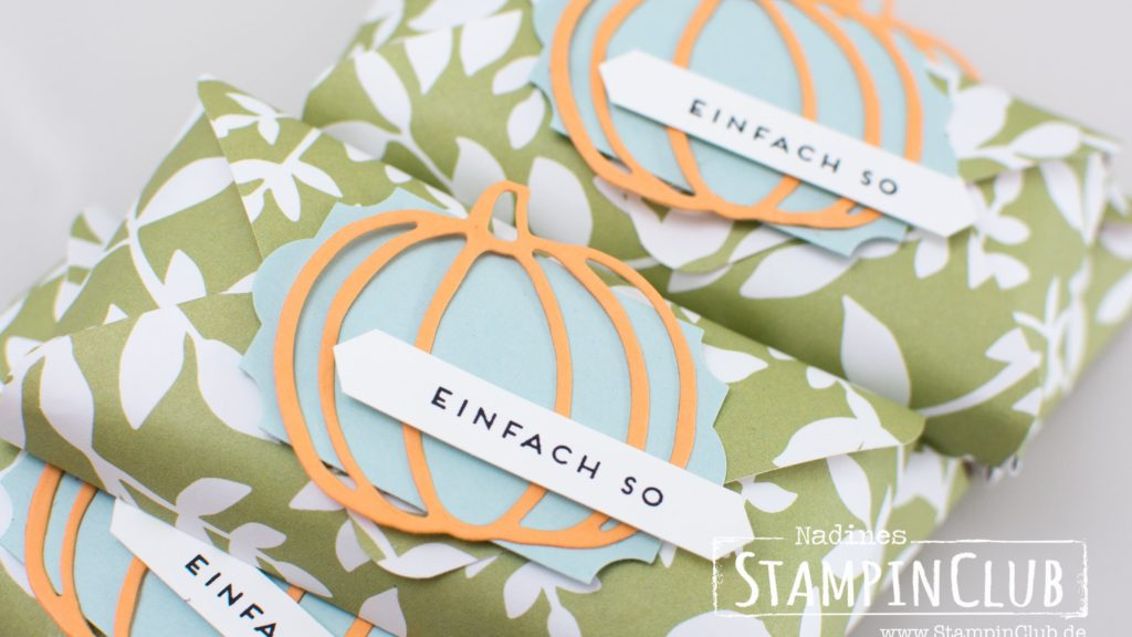 Stampin' Up!, StampinClub, Goodies, DP Allerliebst, Patterned Pumpkins Thinlits, Thinlits Formen Erntedank
