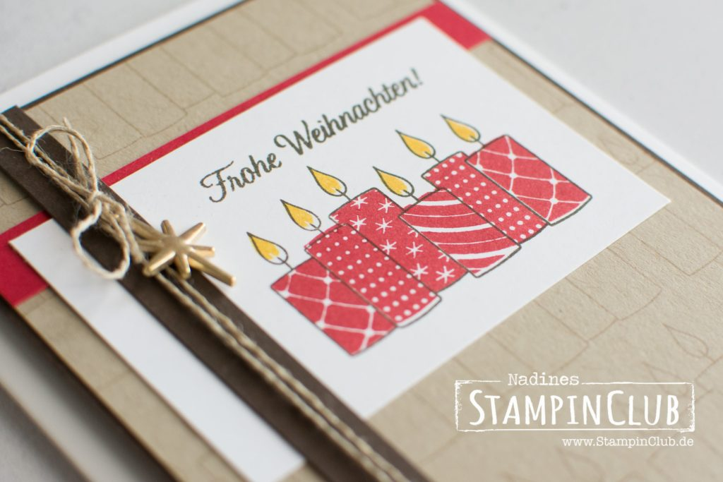 Stampin' Up!, StampinClub, Freude im Advent, Merry Patterns