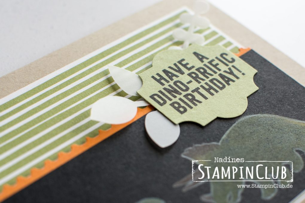 Stampin' Up!, StampinClub, No Bones about it, Black Magic Technik