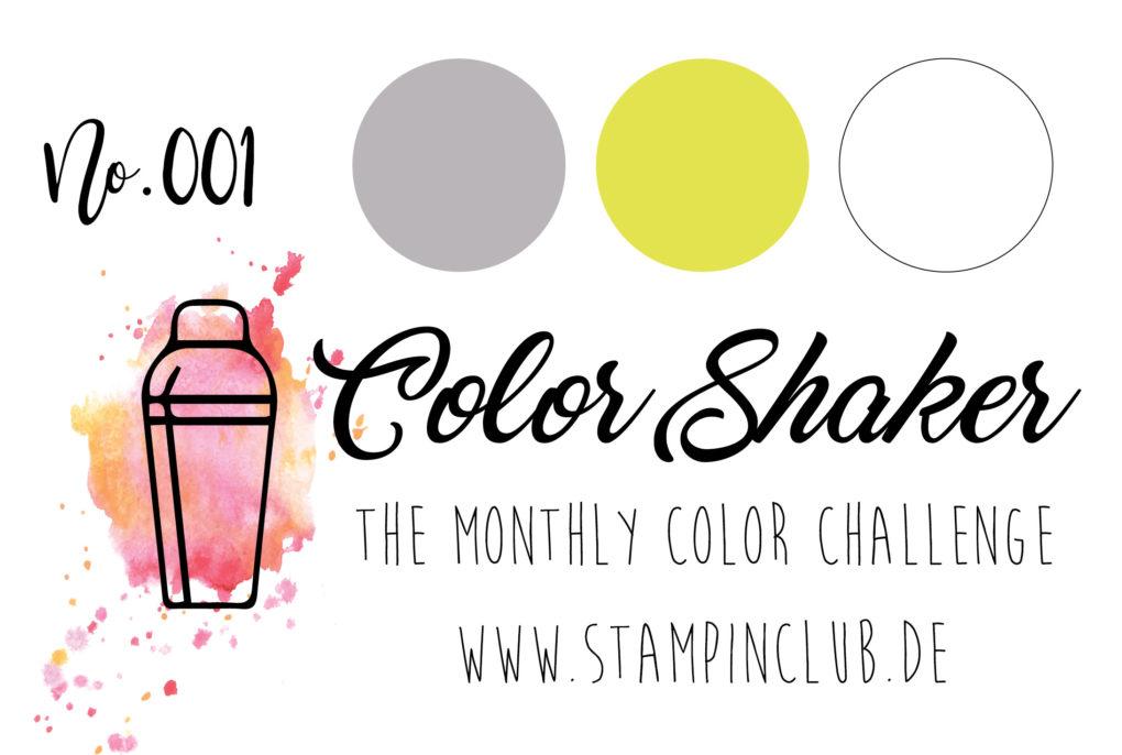 ColorShaker, Stampin' Up!, StampinClub, Farbkombi, Color Combo, Color Challenge