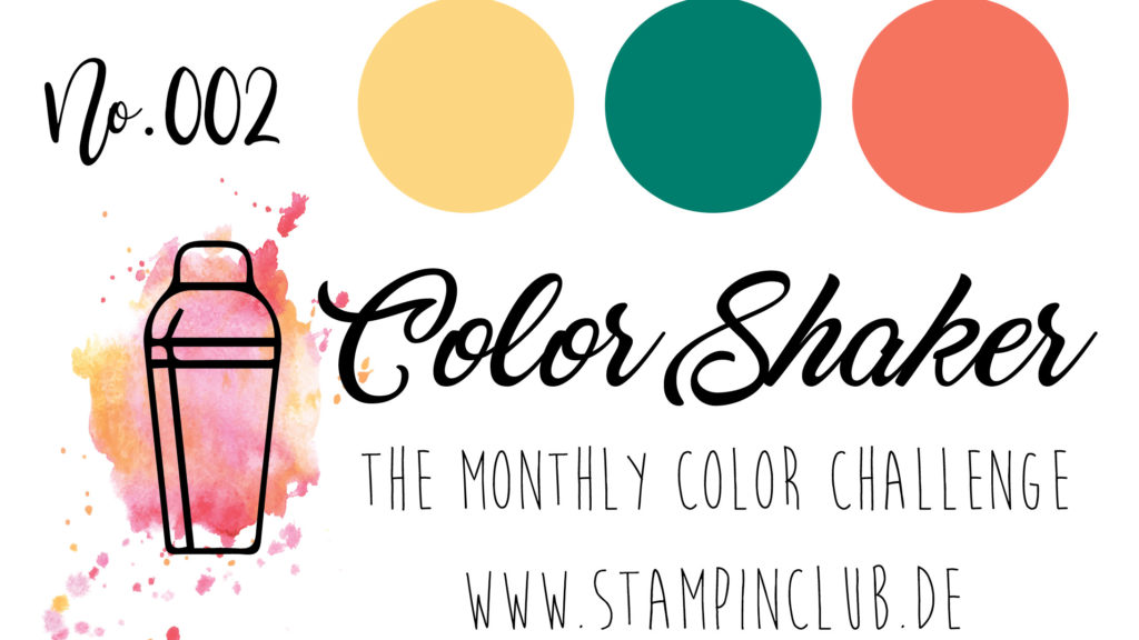 ColorShaker, Stampin' Up!, StampinClub, Farbkombi, Color Combo, Color Challenge