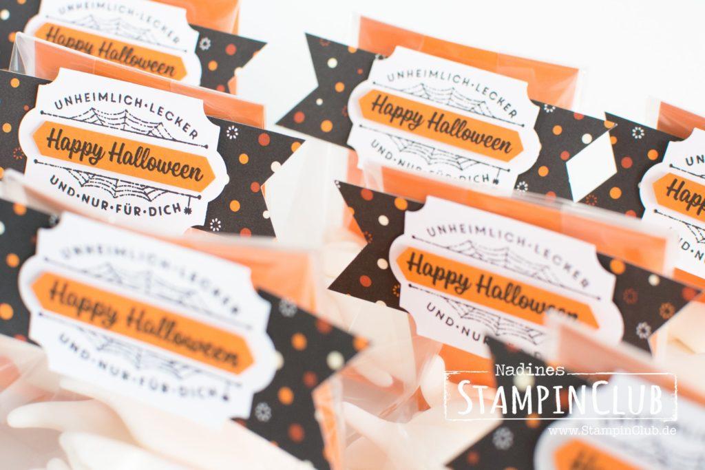 Hokuspokus, Stampin' Up!, StampinClub, Halloween, Goodies, Designerpapier Spuknacht