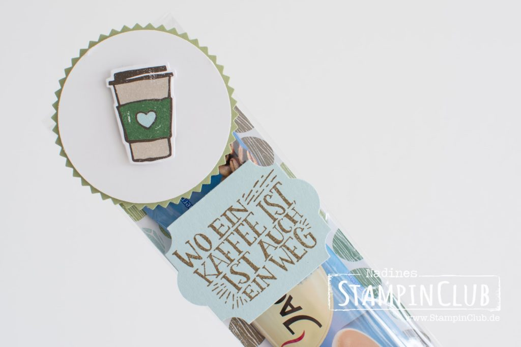 Stampin' Up!, StampinClub, Goodies, Kaffee olé, Coffee Cafe, Designerpapier Kaffeepause, DSP Coffee Break