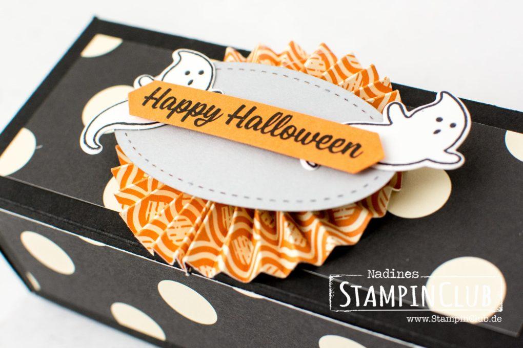 Stampin' Up!, StampinClub, Halloween, Verpackung, Box, Trolli Glotzer, Hokuspokus, Spooky Cat, Ein Haus für alle Fälle, Sweet Home