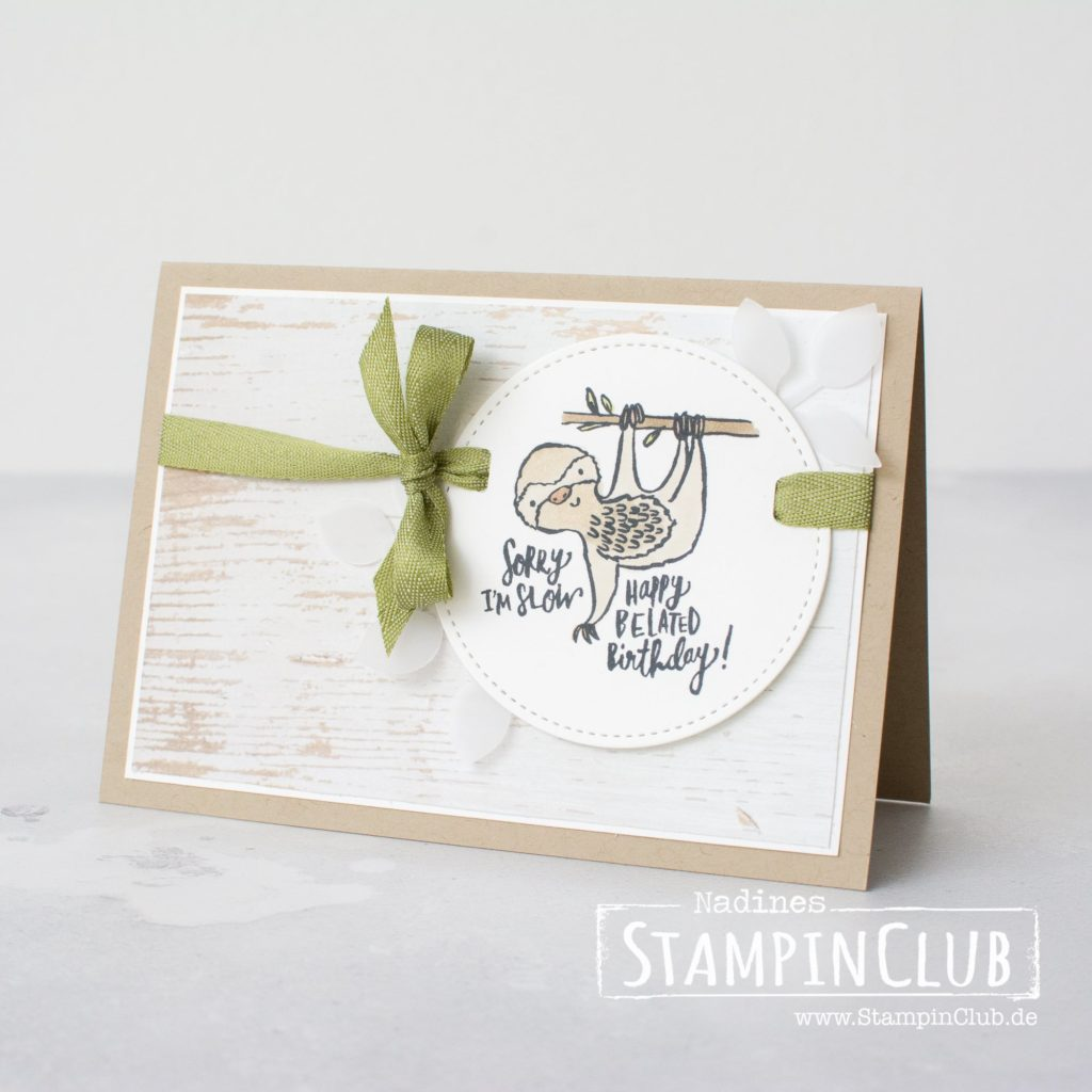 Quirky Critters, Stampin' Up!, StampinClub, Quirky Critters, Stampin' Blends