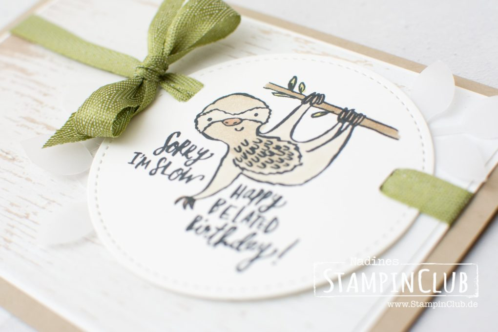 Stampin' Up!, StampinClub, Quirky Critters, Stampin' Blends