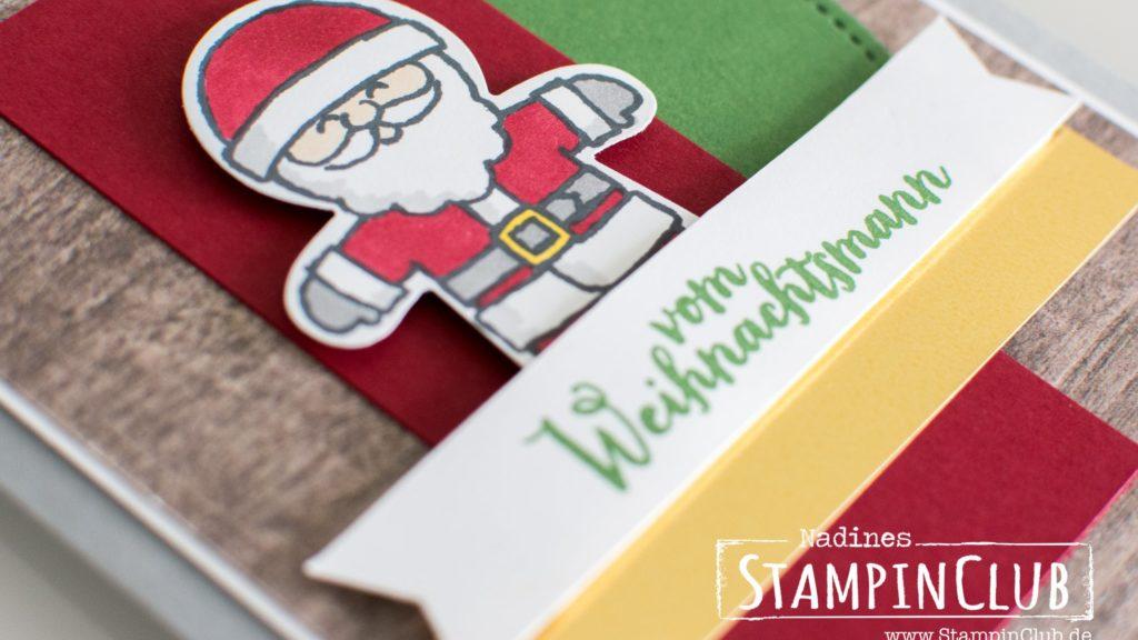 Stampin' Up!, StampinClub, Stamin' Blends, Ausgestochen Weihnachtlich, Fröhliche Weihnachten