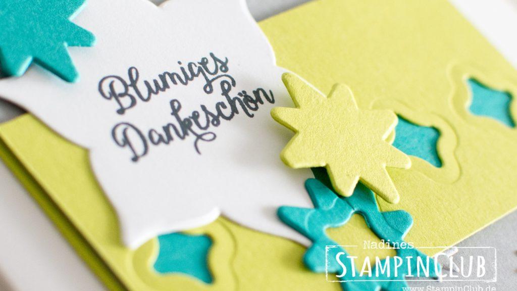 Stampin' Up!, StampinClub, Thinlits Formen Orient Medaillons, Eastern Medallions, Blüten des Augenblicks