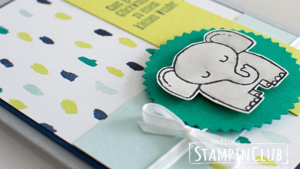 Stampin' Up!, StampinClub, Tierische Glückwünsche, Designerpapier Bunte Vielfalt