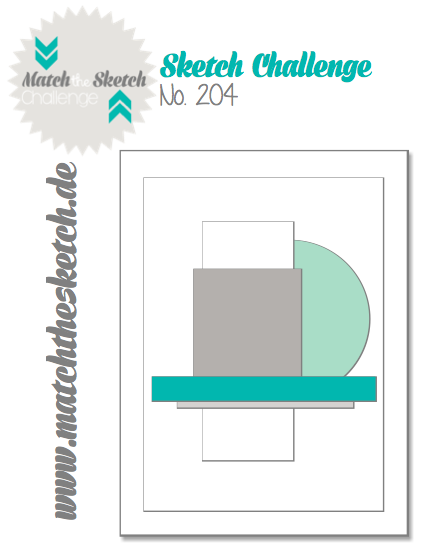 Stampin' Up!, StampinClub, Card Sketch, Match the Sketch Challenge