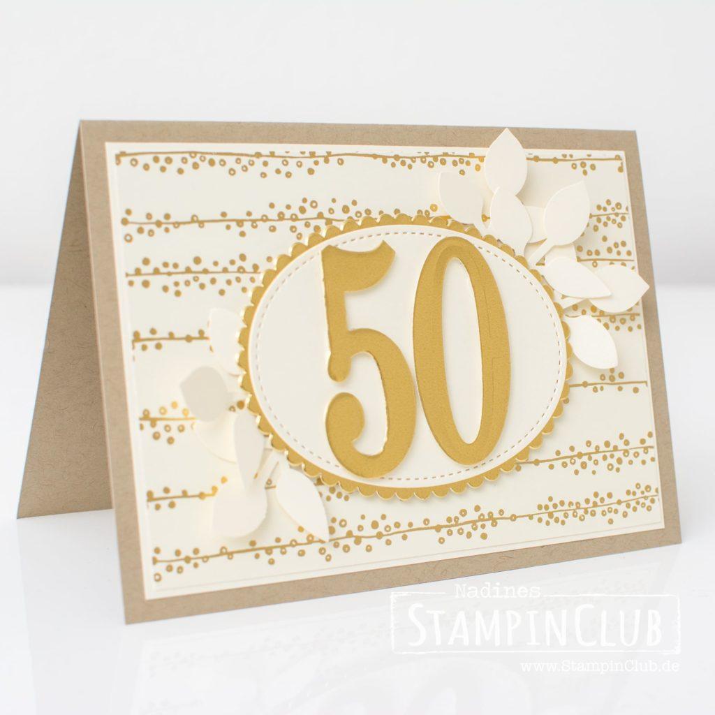 Goldene Hochzeit Mit Babyglück Stampinclub Stampin Up