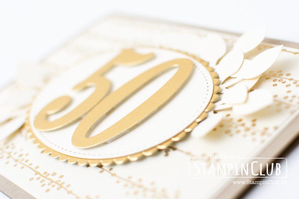 Stampin' Up!, StampinClub, Besonderes Designerpapier Babyglück, Goldene Hochzeit