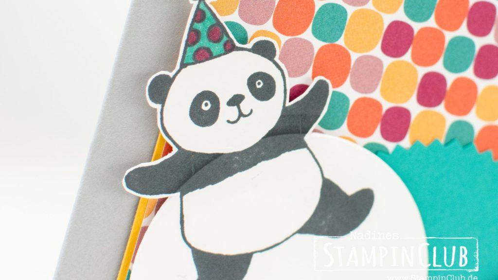 Stampin' Up!, StampinClub, Party Pandas, Party-Pandas, Designerpapier Tuttifrutti, Tutti Frutti DSP