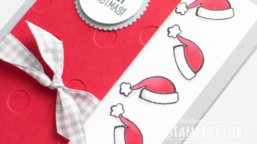 Stampin' Up!, StampinClub, Santa's Suite, Weihnachtskarte