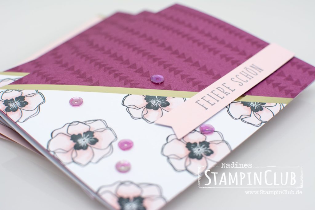Stampin' Up!, StampinClub, Projektset Farbenfroh, Color Me Happy Project Kit, Stampin' Blends