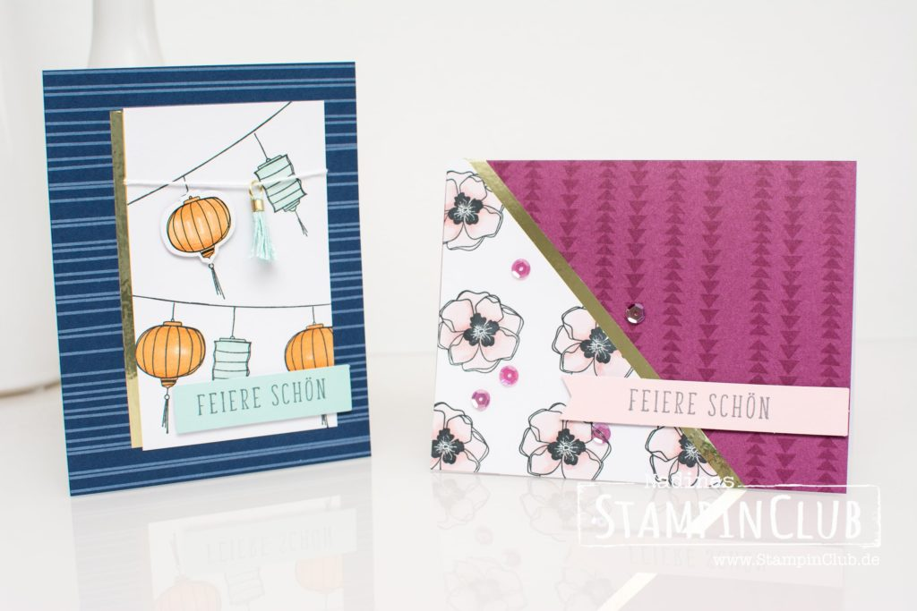 Projektset Farbenfroh, Stampin' Up!, StampinClub, Projektset Farbenfroh, Color Me Happy Project Kit, Stampin' Blends