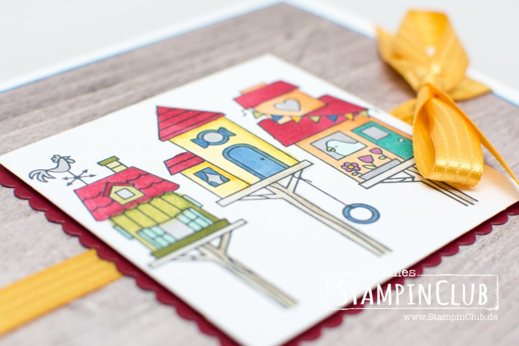 Stampin' Up!, StampinClub, Stampin' Blends, Flying Home