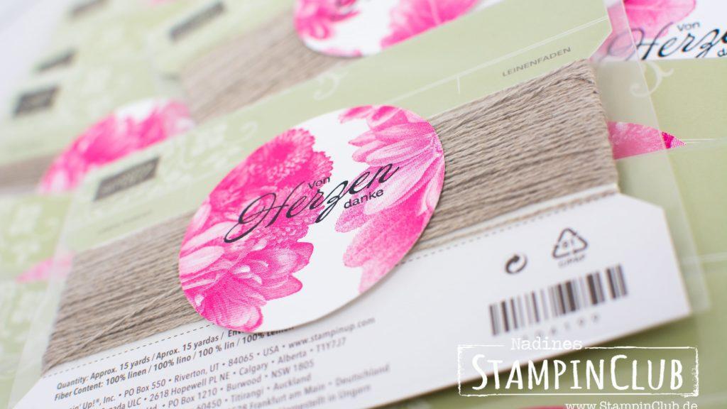 Stampin' Up!, StampinClub, Heartfelt Blooms, Blumen von Herzen