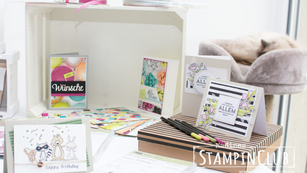 Stampin' Up!, StampinClub, Open House, Tag der offenen Tür, Katalogparty