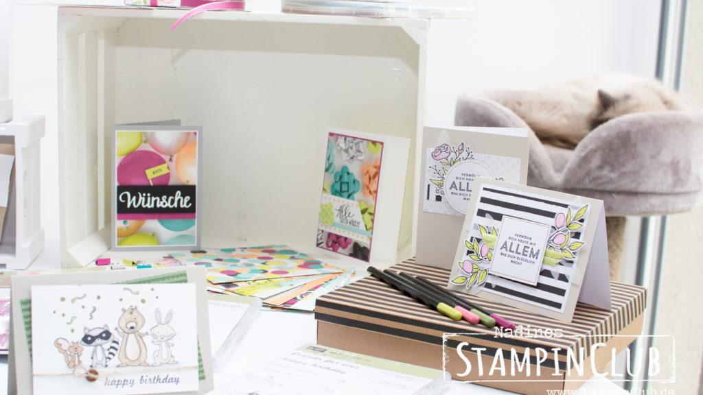 Stampin' Up!, StampinClub, Open House, Tag der offenen Tür, Katalogparty