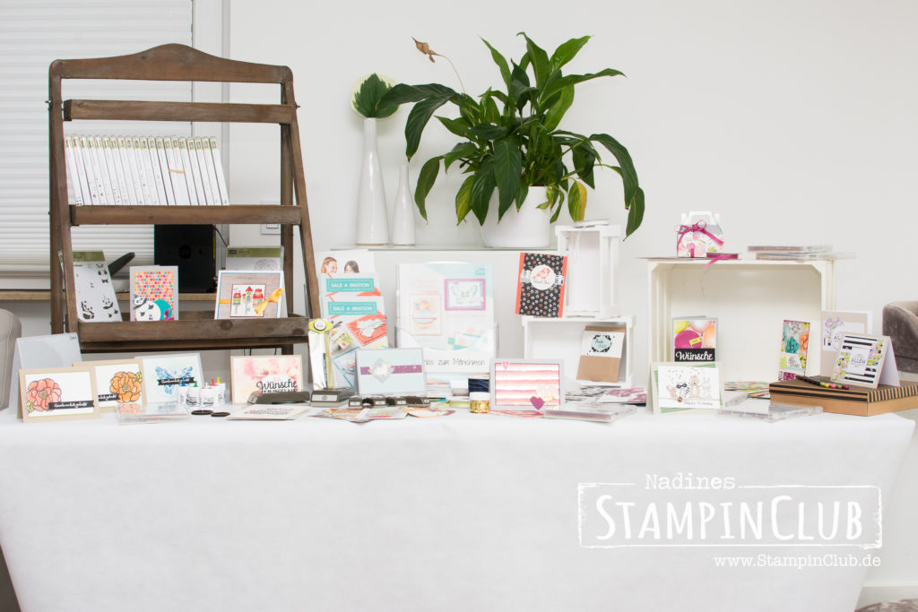 Tag der offenen Tür, Stampin' Up!, StampinClub, Open House, Tag der offenen Tür, Katalogparty