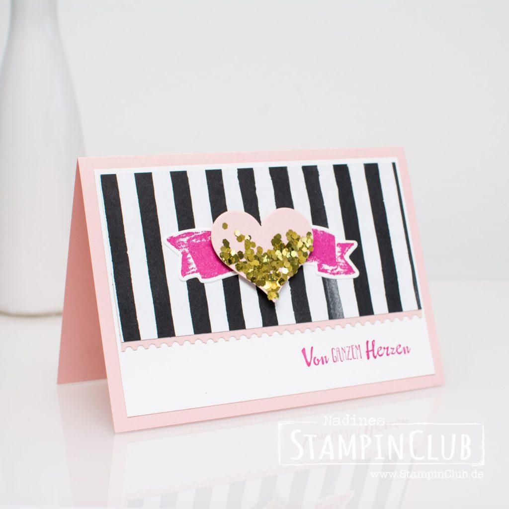 Für Schatz-Karten, Stampin' Up!, StampinClub, Blütentraum, Petal Palette, Für Schatz-Karten, Sure Do Love You, Framelits Schachtel voller Liebe, Lots to Love Box Framelits
