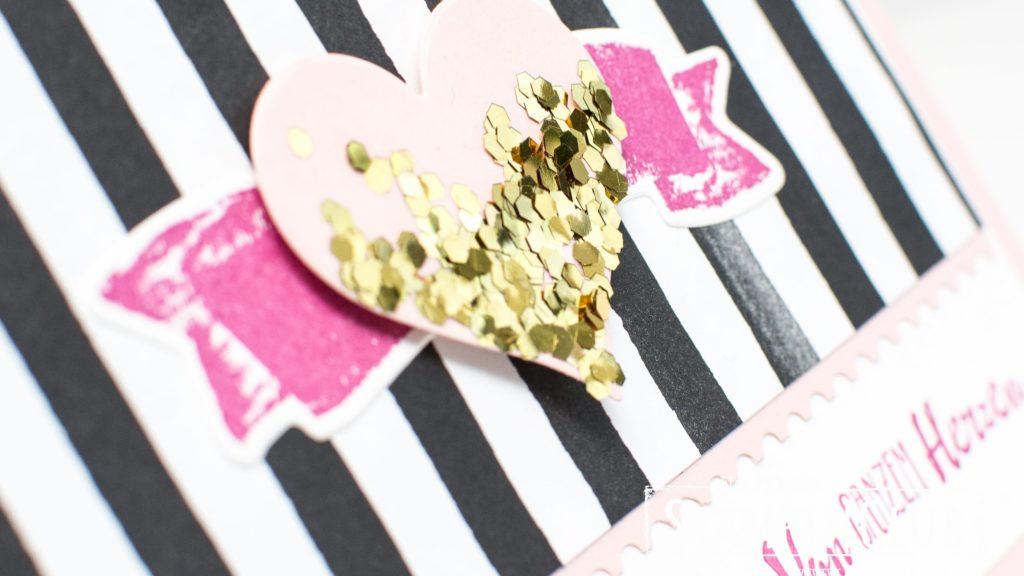 Stampin' Up!, StampinClub, Blütentraum, Petal Palette, Für Schatz-Karten, Sure Do Love You, Framelits Schachtel voller Liebe, Lots to Love Box Framelits