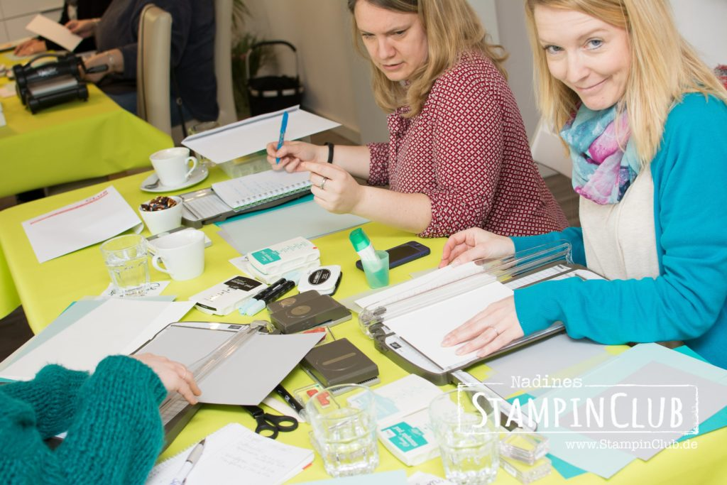 Stampin' Up!, StampinClub, Teamtreffen, Demotreffen, Stempel-Brunch