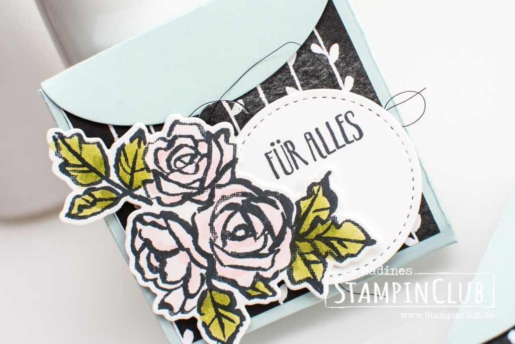 Blütentraum, Stampin' Up!, StampinClub, Blütentraum, Petal Palette, DP Blütenfantasie, Thinlits Formen Blüten Blätter & Co., Petals & More Thinlits Dies, Framelits Formen Schachtel voller Liebe, Lots to Love Box Framelits