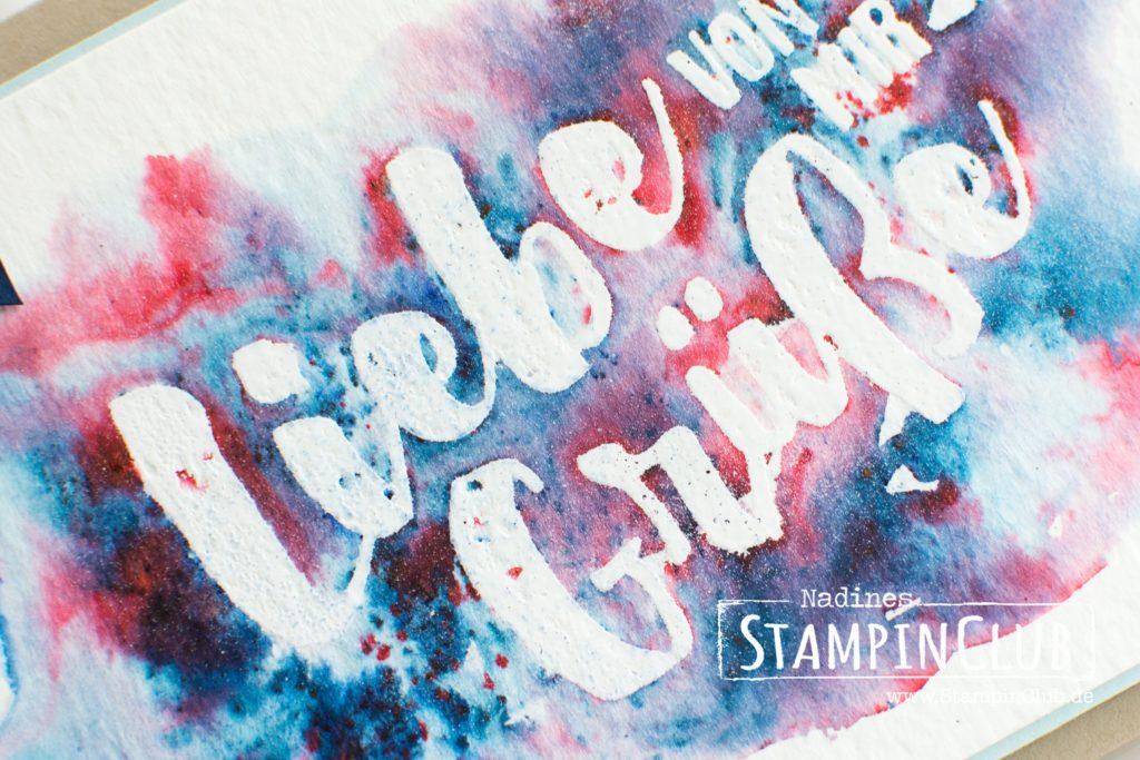Stampin' Up!, StampinClub, Brushos, Ganz Liebe Grüße, Lost of Love