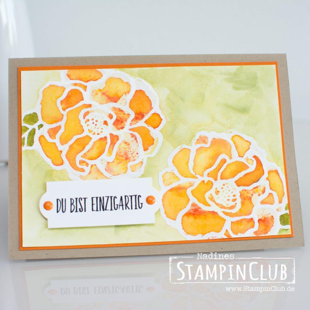 Stampin' Up!, StampinClub, Brushos, Wunderbarer Tag, Beautiful Day
