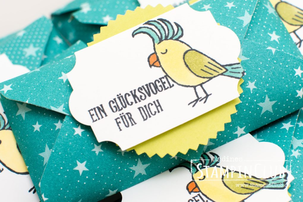 Stampin' Up!, Goodies, DP Einfach spritzig, Bubbles & Fizz DSP, Grußgezwitscher, Bird Banter