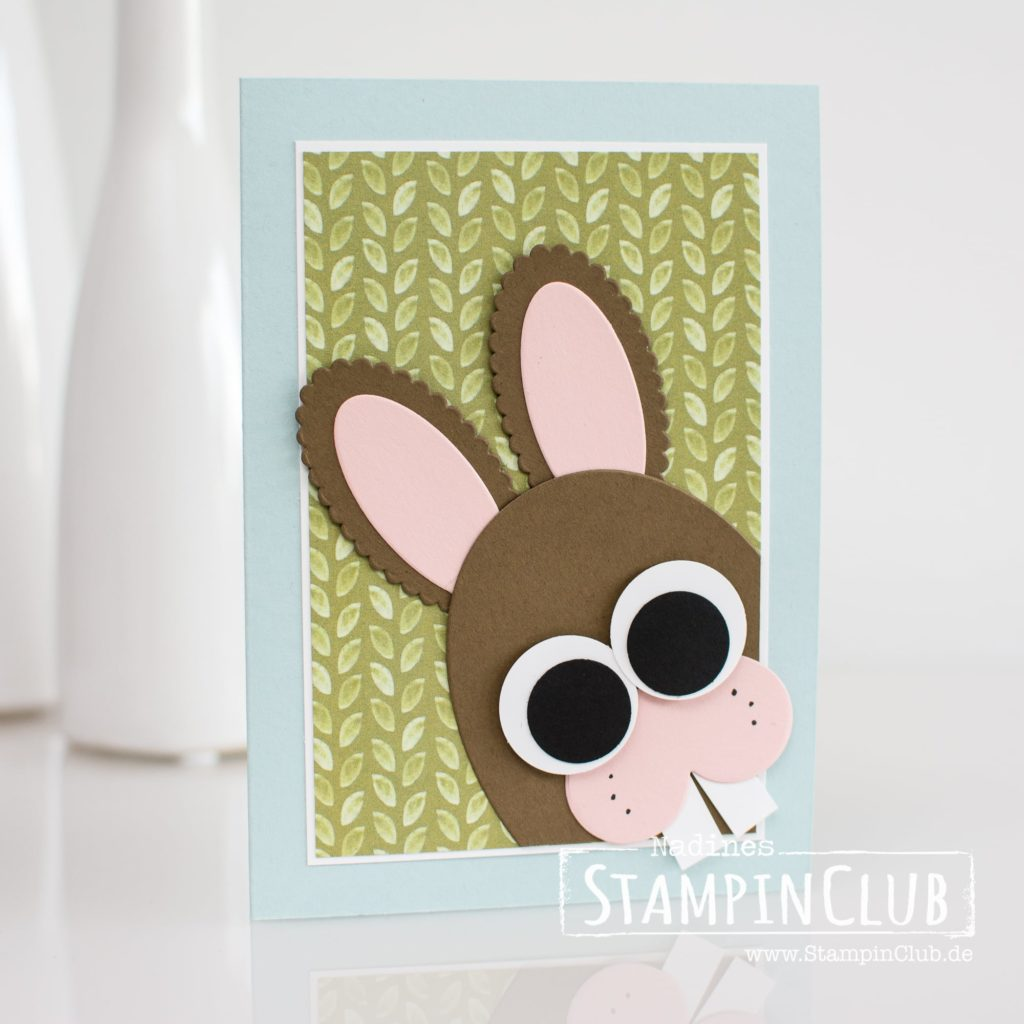 Osterhase, Stampin' Up!, StampinClub, Punch Art, Easter Bunny, Ostern