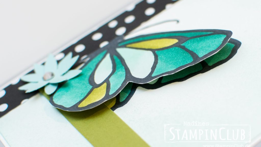 Stampin' Up!, StampinClub, Stampin' Blends, Wunderbarer Tag, Schmetterling, Beautiful Day