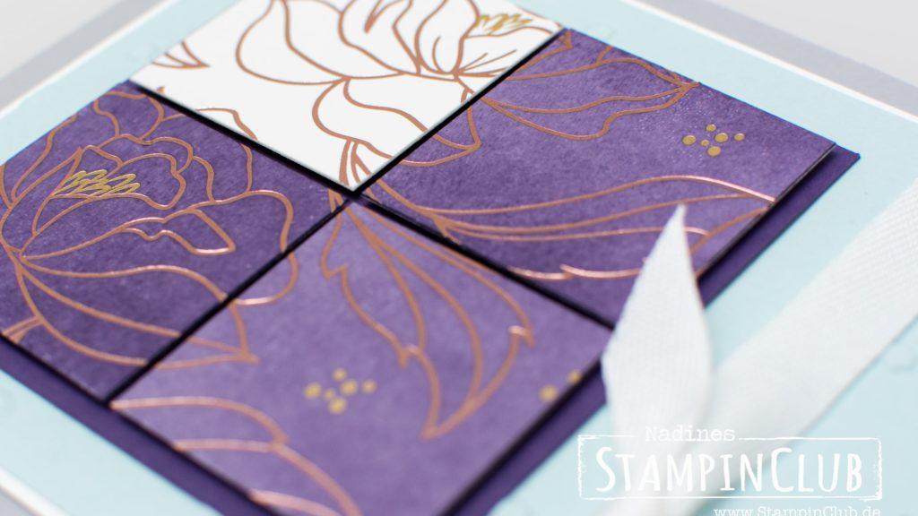 Stampin' Up!, Sale-A-Bration, Blumen von Herzen, Designerpapier Frühlingsglanz
