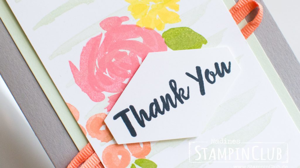 Stampin' Up!, StampinClub, Frühlingsfreuden, Abstract Impressions