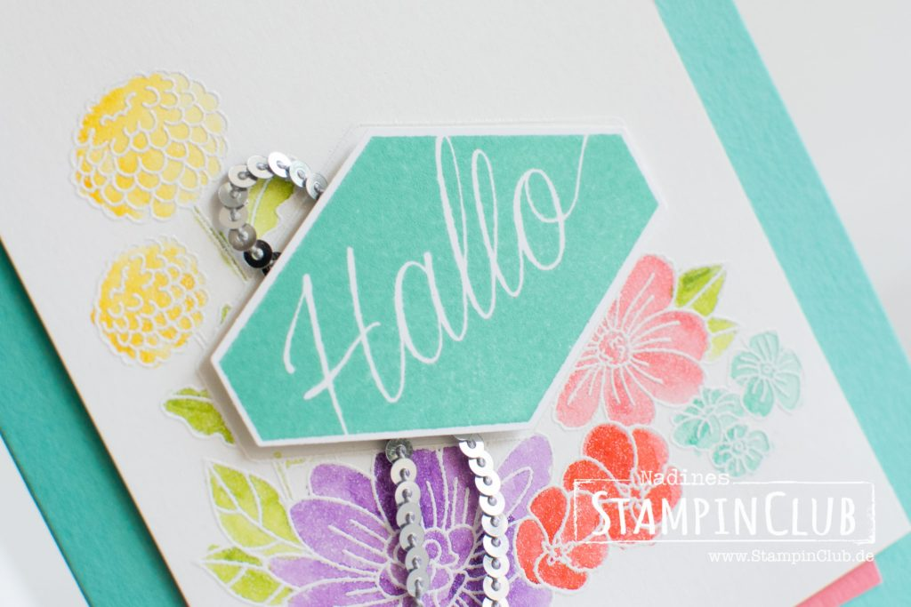 Stampin' Up!, Blumiges Etikett, Accented Blooms