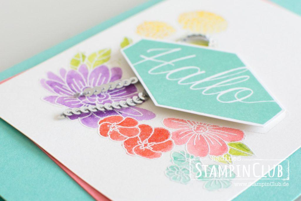Blumiges Etikett, Stampin' Up!, Blumiges Etikett, Accented Blooms