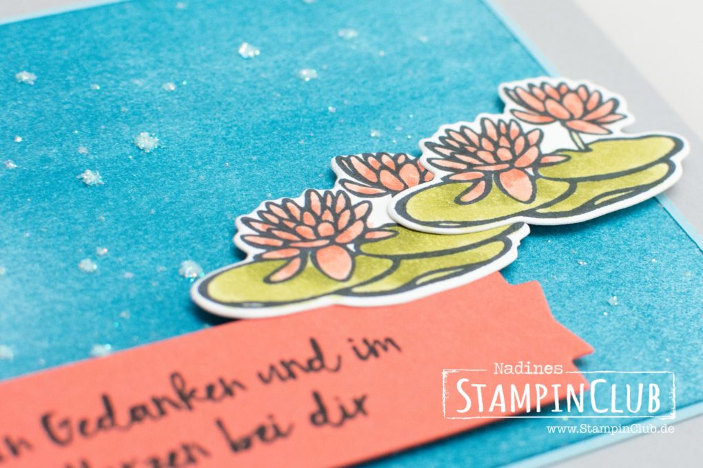 Stampin Up, StampinClub, Am Seerosenteich, Lilypad Lake