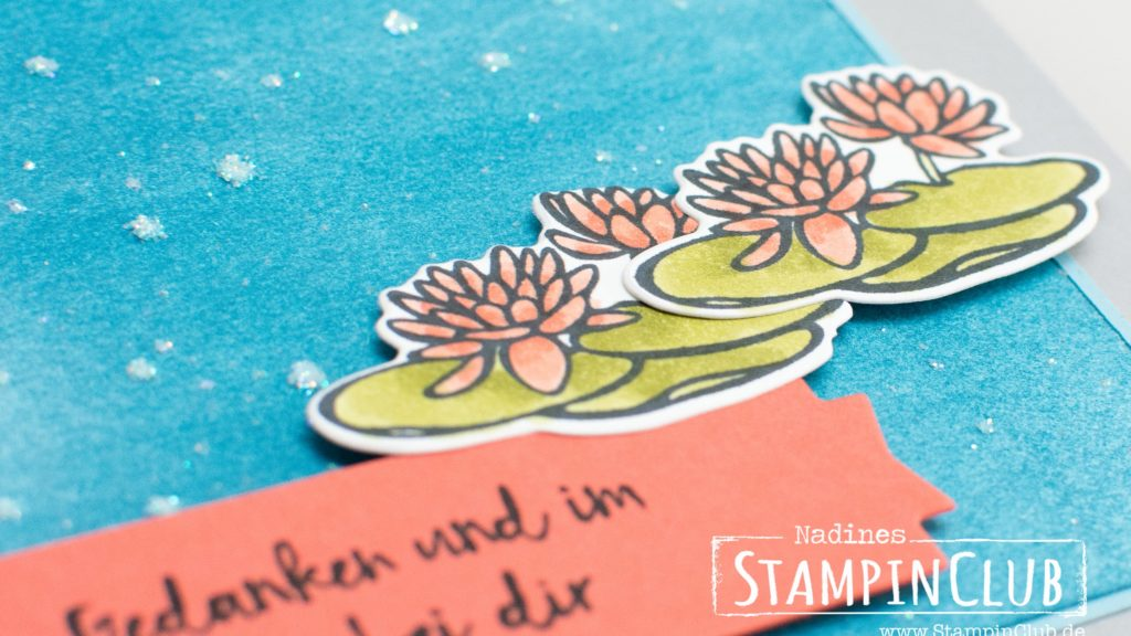 Stampin Up, StampinClub, Am Seerosenteich, Lilypad Lake