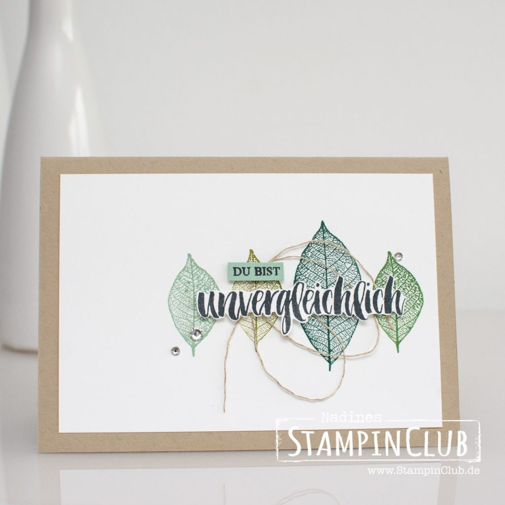 Stampin' Up!, StampinClub, Kraft der Natur, Rooted in Nature