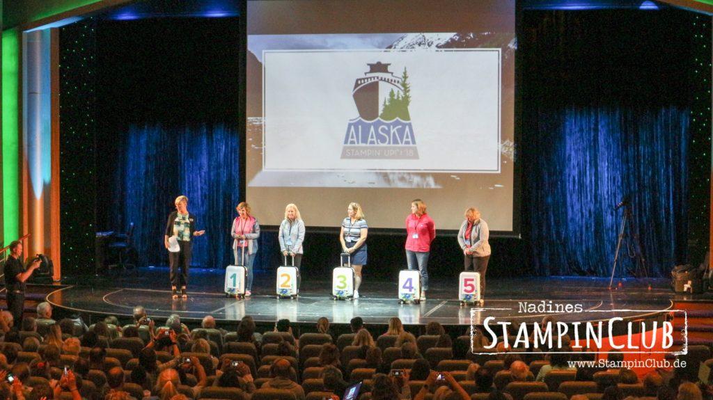 Hauptveranstaltung, Stampin' Up!, StampinClub, Prämienreise, 2018, Alaska, Kreuzfahrt