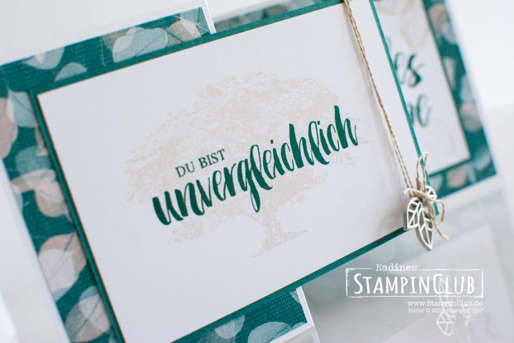 Stampin' Up!, StampinClub, Double Z Fold, Kraft der Natur, Poesie der Natur
