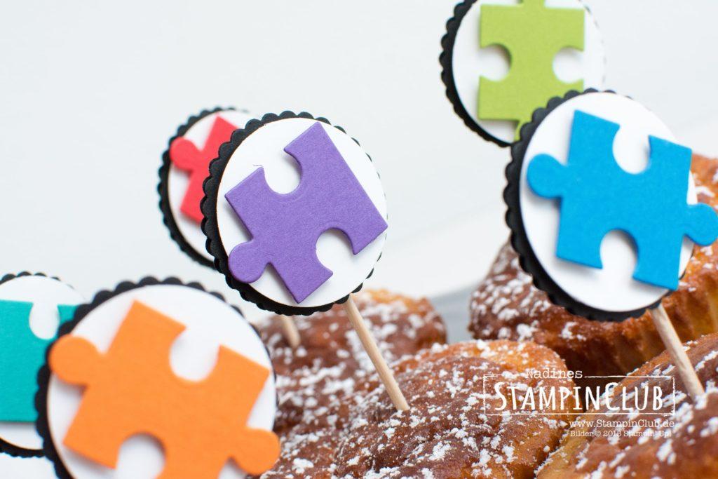 Stampin' Up!, StampinClub, Thinlits Puzzleteile, Puzzle Pieces Thinlits Dies