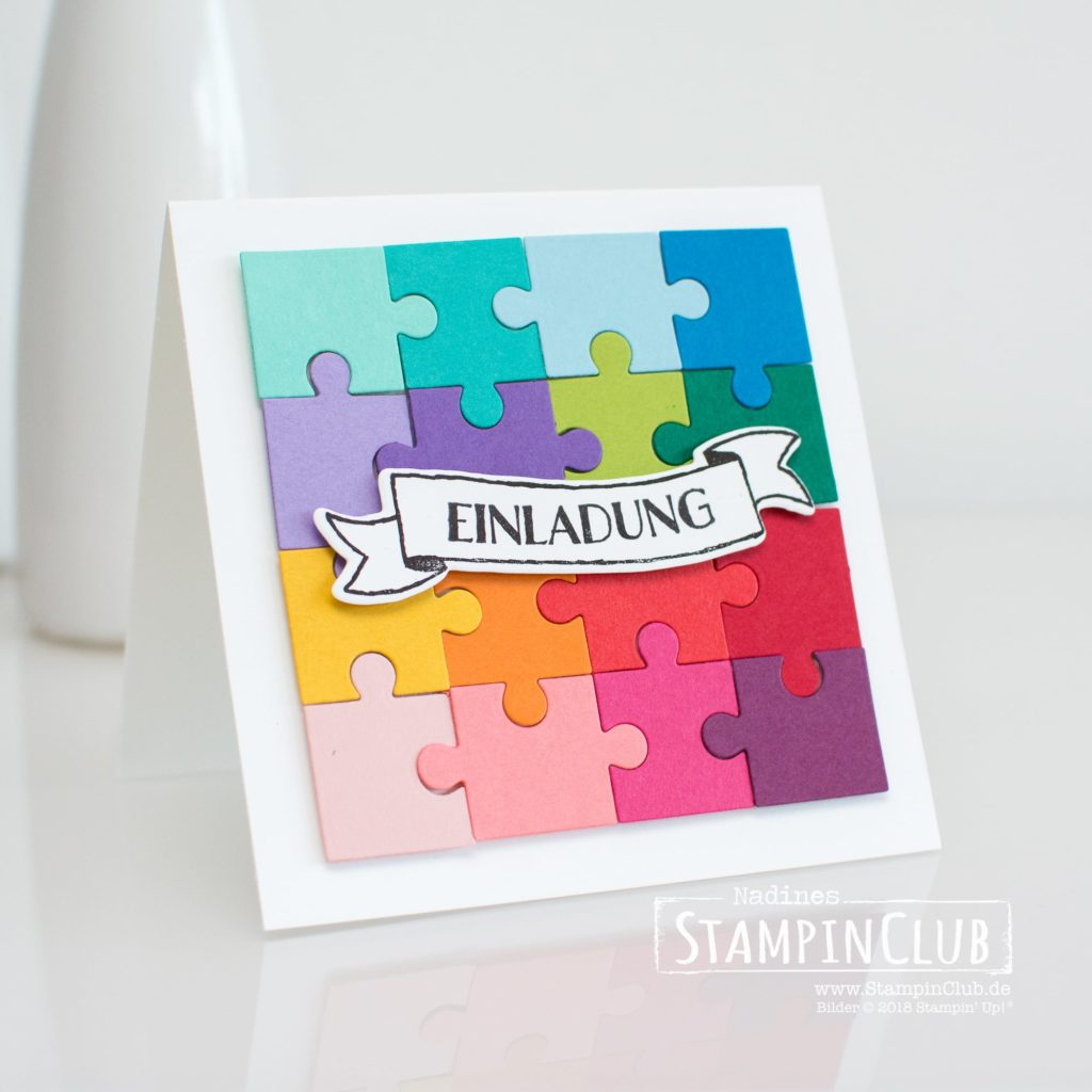 Stampin' Up!, StampinClub, Thinlits Puzzleteile, Puzzle Pieces Thinlits Dies